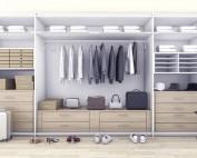 Organizzare l'armadio;Organizzare l'armadio; da letto;armadio;ordine;organizzare armadio;guardaroba;cabina armadio