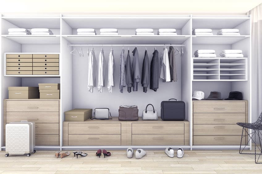Organizzare Cabina Armadio Ikea.Come Organizzare La Cabina Armadio Beautiful Come Arredare Una